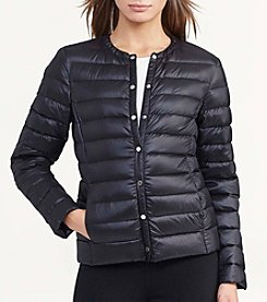 Lauren Ralph Lauren® Collarless Down Jacket