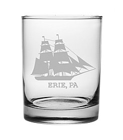 Susquehanna Glass Erie Ship Glass