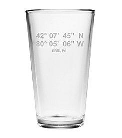 Susquehanna Glass Erie Latitude And Longiture Glass