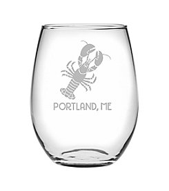 Susquehanna Glass Portland Lobster Wine Glass