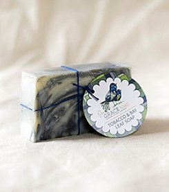 Pure Grace Soap Tobacco & Bay Leaf Bar Soap