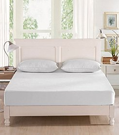 Greenzone Bamboo Viscose Terry Mattress Protector with 2-Pack Queen Pillow Protectors
