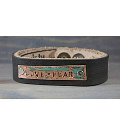 The Handmade Society Love > Fear Cuff Bracelet