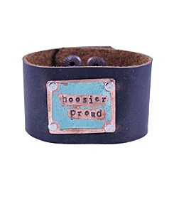 The Handmade Society Hoosier Proude Wide Cuff