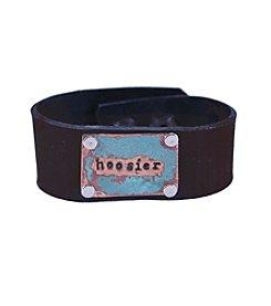 The Handmade Society Hoosier Wide Cuff