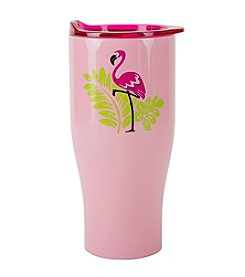 Boston Warehouse 30-Oz. Flamingo Stainless Steel Double Walled Tumbler