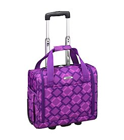 Leisure Vector Purple Geometric Under The Seat Boarding Bag