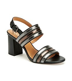 COACH PRINCETON BLOCK HEEL DRESS SANDALS