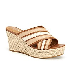 COACH FLORENTINE WEDGE SANDALS