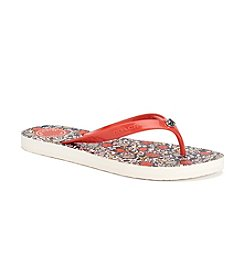 COACH ALLISON THONG SANDALS