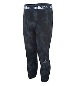 adidas® Boys' 8-20 Smoke Screen Baselayer Tights