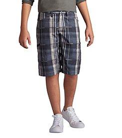 Lee® Boys' 8-20 Grafton Plaid Shorts