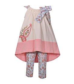 Bonnie Jean® Baby Girls' Paisley Leggings Set