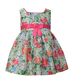Bonnie Jean® Girls' 2T-4T Floral Print Dress