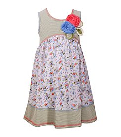 Bonnie Jean® Girls' 2T-6X Striped Empire Dress