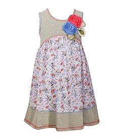 Bonnie Jean® Girls' 2T-6X Striped Empire Dress