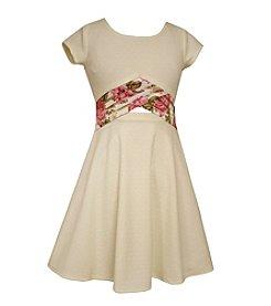 Bonnie Jean® Girls' 7-16 Textured Knit Dress
