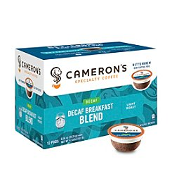 Cameron's Specialty Coffee Decaf Breakfast Blend 12-ct. Single Serve Coffee