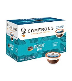 Cameron's Specialty Coffee Premium Donut Shop 12-ct. Single Serve Coffee