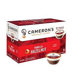 Cameron's Specialty Coffee Vanilla Hazelnut Single Serve Coffee