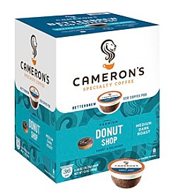 Cameron's Specialty Coffee Premium Donut Shop 36-pk. Single Serve Coffee