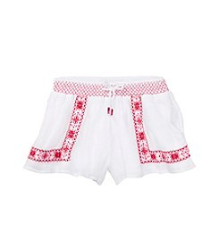 Polo Ralph Lauren® Girls' 2T-6X Gauze Smocked Shorts