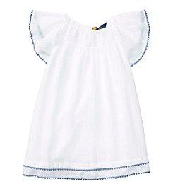 Polo Ralph Lauren® Girls' 2T-6X Gauze Tassel Dress