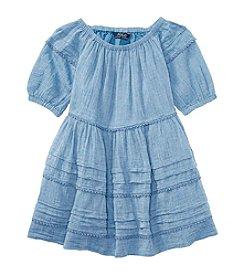 Polo Ralph Lauren® Girls' 2T-6X Chambray Dress