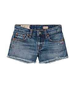 Polo Ralph Lauren® Girls' 2T-6X Paint Splat Shorts