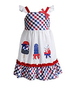 Sweet Heart Rose® Baby Girls' Sparkle Americana Sundress