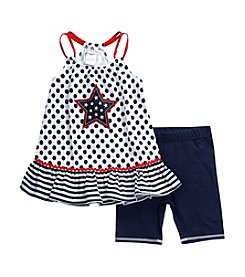 Sweet Heart Rose® Baby Girls' Americana Legging Set