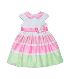 Little Me® Baby Girls' Pastel Stripe Dress Set