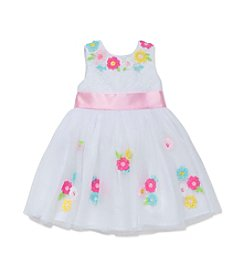 Little Me® Baby Girls' 3D Flower Dress Set