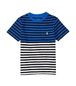 Polo Ralph Lauren® Boys' 2T-7 Slub Jersey Pocket Tee