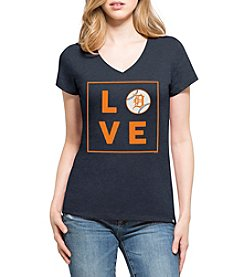 47 Brand MLB® Detroit Tigers Women's Club V-Neck Short Sleeve Tee