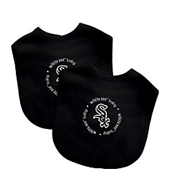 Baby Fanatic MLB® Chicago Whitesox 2 Pack Bibs