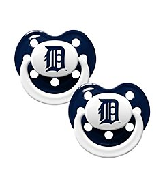 Baby Fanatic MLB® Detriot Tigers 2 Pack Pacifiers