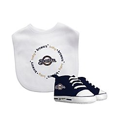 Baby Fanatic MLB® Milwaukee Brewers Bib And Bootie Set