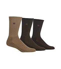 Chaps® Men's 3-Pack Solid Crew Socks