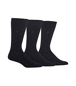 Chaps® 3-Pack Diamond Dress Socks
