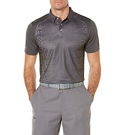 PGA TOUR® Men's Industrial Camo Geo Print Polo