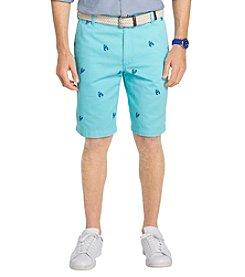 Izod® Men's Flat Front Beachtown Lobster Shorts