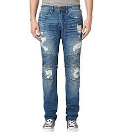 Buffalo by David Bitton Men's Max-X Moto Jean