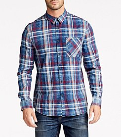 William Rast® Men's Hendrix Plaid Woven Shirt