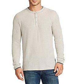 William Rast® Men's Kurt Long Sleeve Henley Shirt