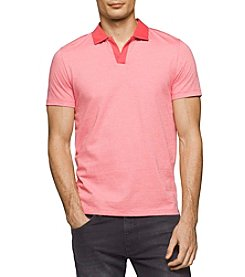 Calvin Klein Men's Liquid Jersery Yarn Polo