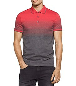 Calvin Klein Men's Liquid Jersey Two Tone Polo