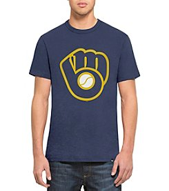 47 Brand Men's MLB&Reg; Milwaukee Brewers Men's Crosstown Scrum Tee