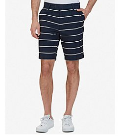 Nautica® Men's Slim Fit Striped Shorts