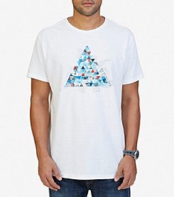 Nautica® Men's Triangle Pyramid Graphic T-Shirt